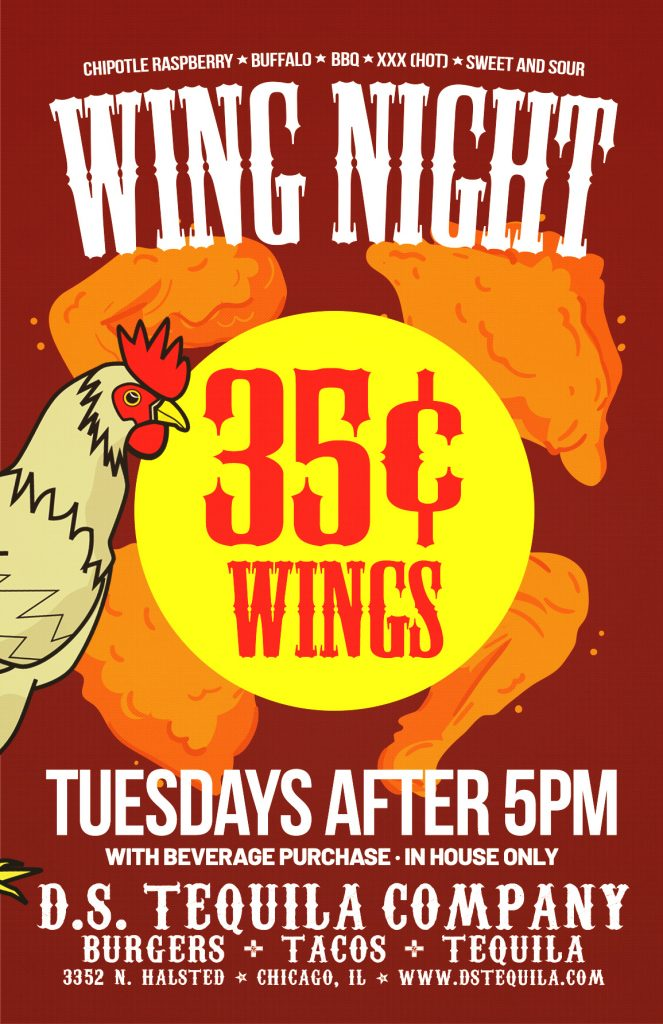 DS Wing Night 2019