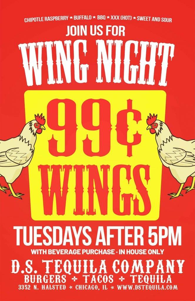 DS Wing Night 2021 Update