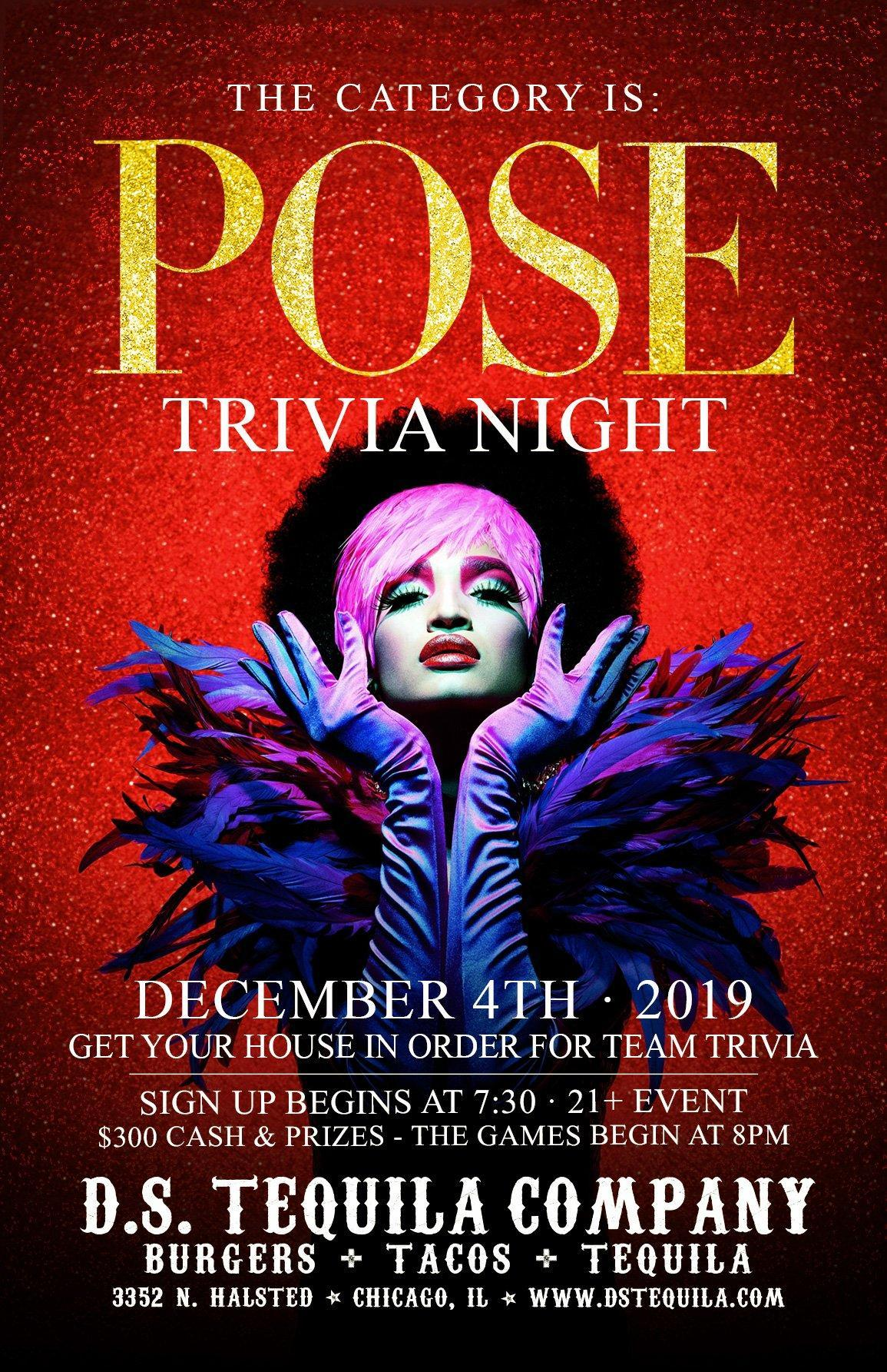 POSE! Trivia Night · Get Your House In Order