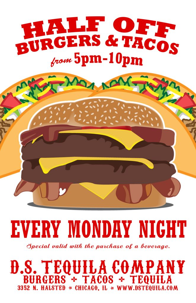 DS Monday Burgers N Tacos 2019