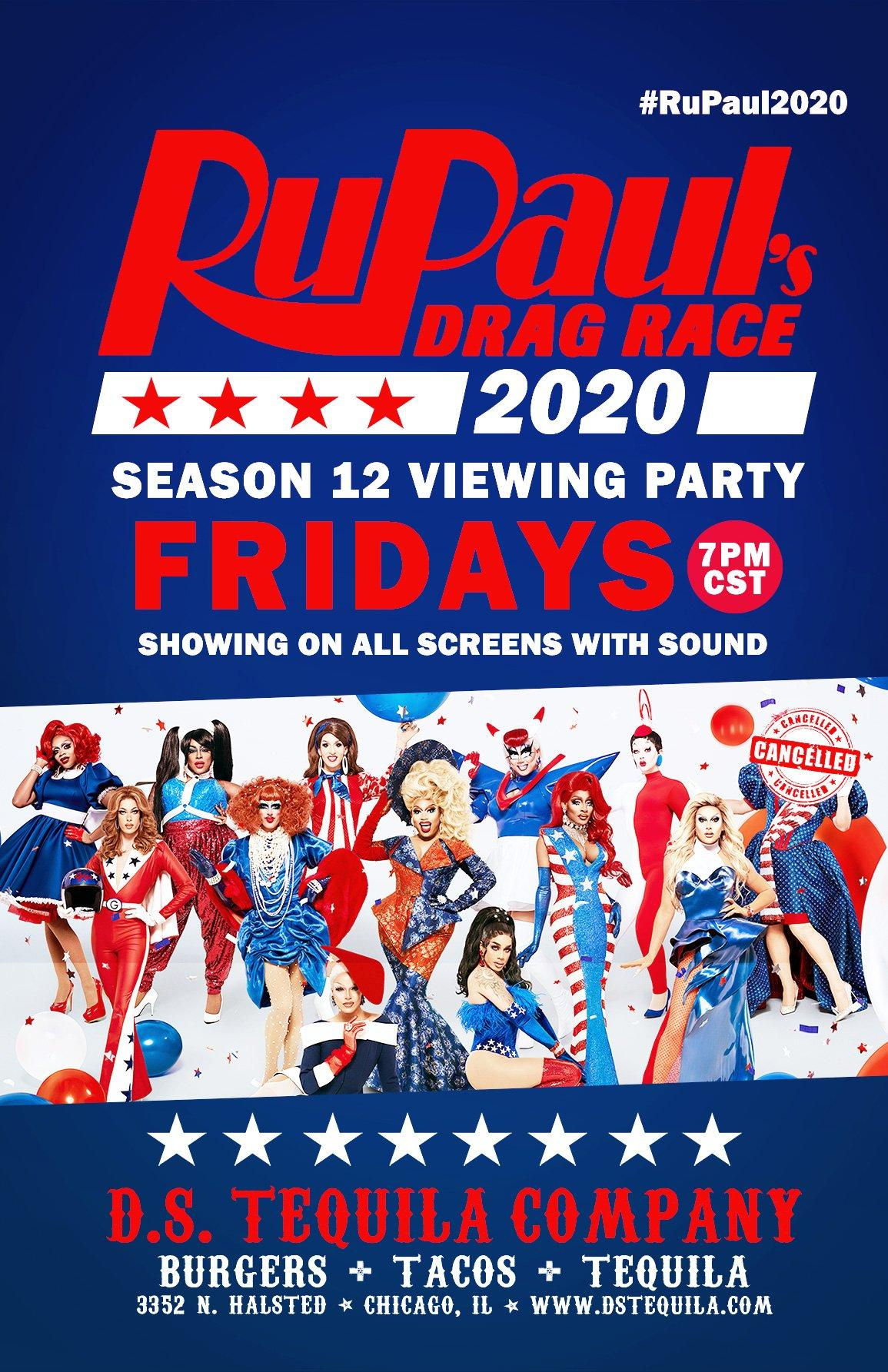 DS RuPaul Drag Race Season 12 Fridays – Update
