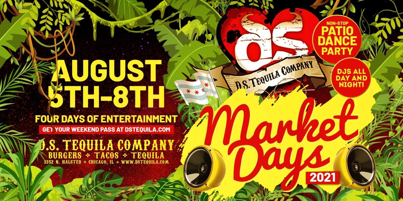 DS Tequila Market Days 2021 Banner