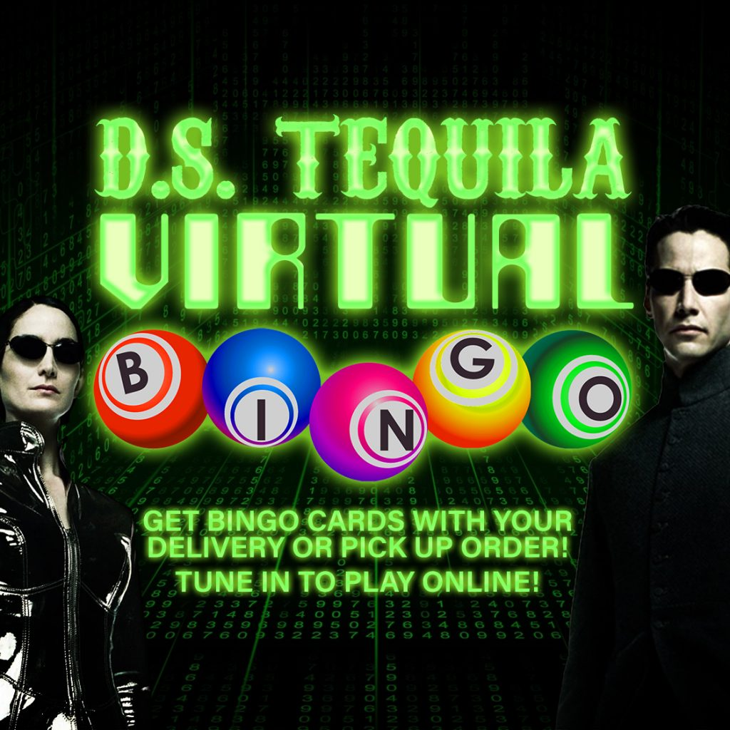 DS Virtual Bingo Flyer